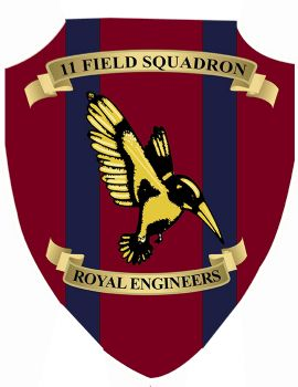 11 Field Sqn Squadron Plaque